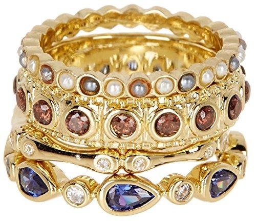 cz venta al por mayor joyas de piedras preciosas apilables