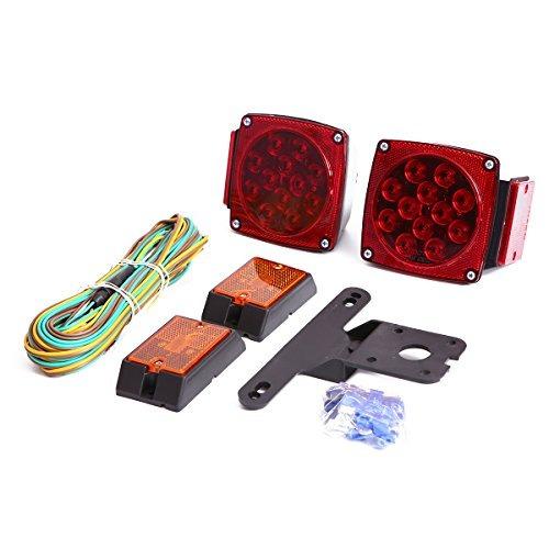 czc auto 12v led sumergible remolque luz de la cola kit de d