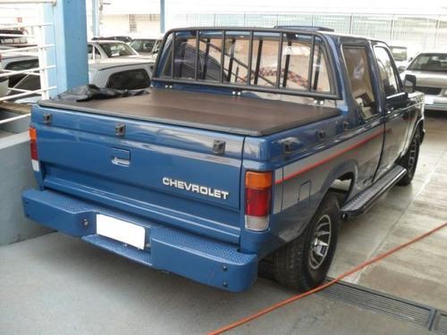 d-20 custom s cabine simples 4.0 8v 1989 azul