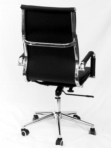 D eames silla dialogo oficina escritorio black white gt a for Sillas escritorio uruguay