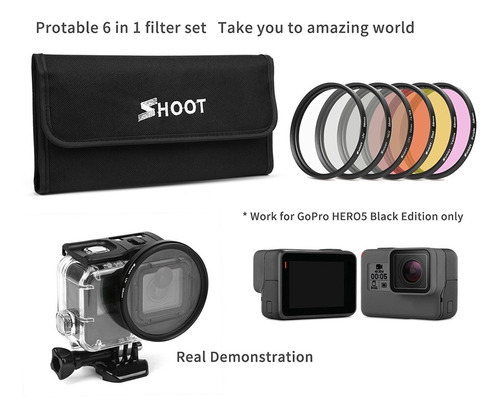d & f 58mm fotografía profesional kit de filtro de la lente