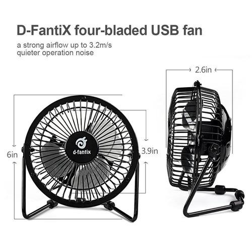 d-fantix pequeño ventilador de escritorio res + envio gratis