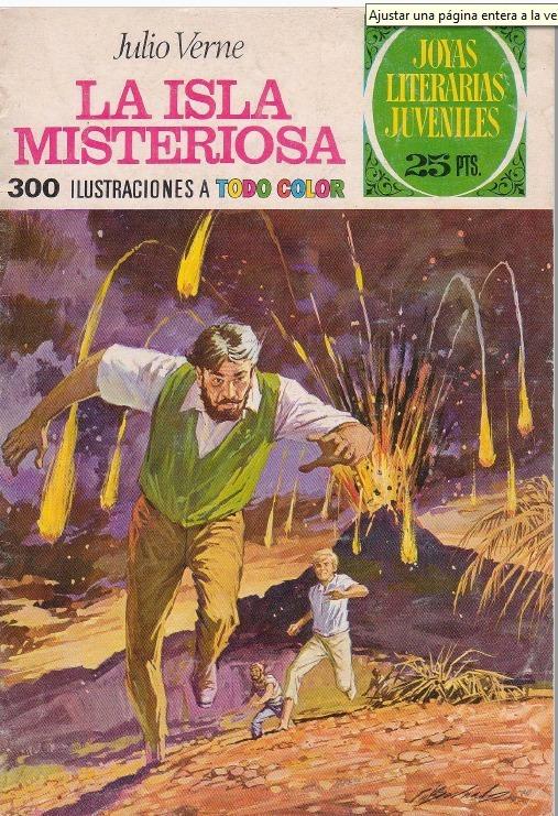 D Historieta Joyas La Isla Misteriosa Julio Verne