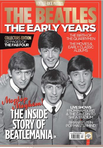 d idioma inglés - vintage rock - the beatles