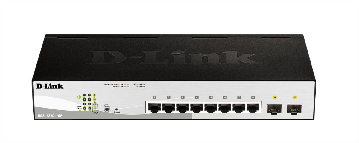 D-Link DGS-1210-10P Switch Descargar Controlador
