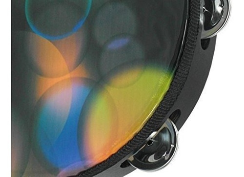 D/'Luca Disco Lights Head Tambourine