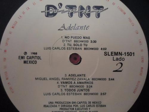 d´ t n t /  adelante vinyl lp acetato