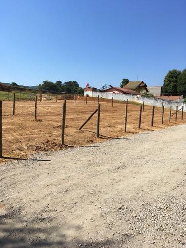 d terrenos com 500 m² 100% localizado araça 12mil de entrada