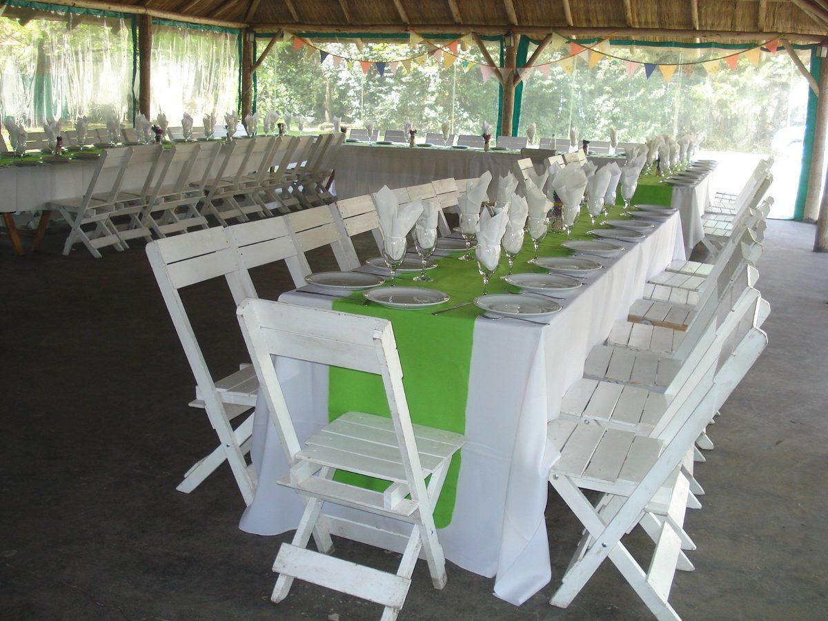 D 39 todo eventos alquiler de vajilla mesas sillas manteles for Sillas para rentar