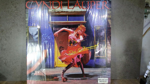 d181 cyndi lauper she's so unusual lp muy buen estado