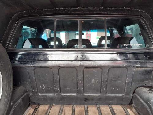 d20 cabine dupla cor preta 91/91