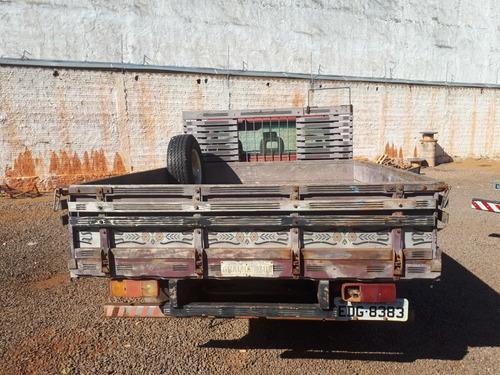d20 champ completa - carroceria madeira - turbo original