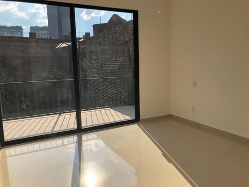 d3. departamento en renta  completamente nuevo  con gran terraza
