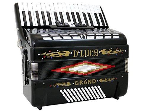d'luca d3472-bk acordeón para piano de cola 5...