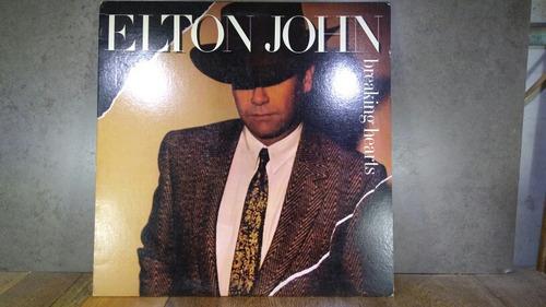 d488 elton john breaking hearts lp