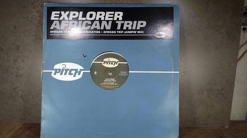 d561 explorer african trip lp 12' bkack education jumpin mix