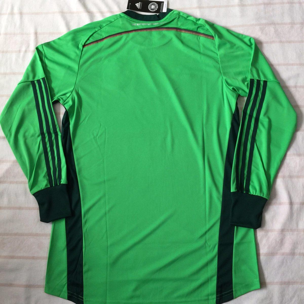 d85421 camisa goleiro adidas alemanha 2014 m verde fn1608. Carregando zoom. c3779b534cd9b