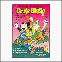dá-lhe, brasil! edição especial da copa - abril jovem - 1990