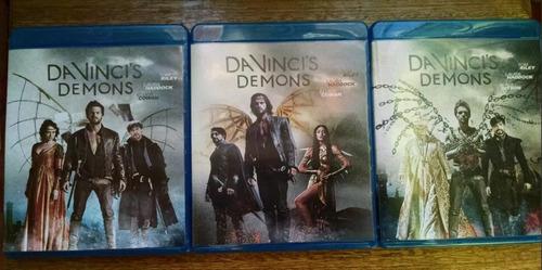 da vinci´s demons temporada 1-3 blu rayda vinci´s demons - l