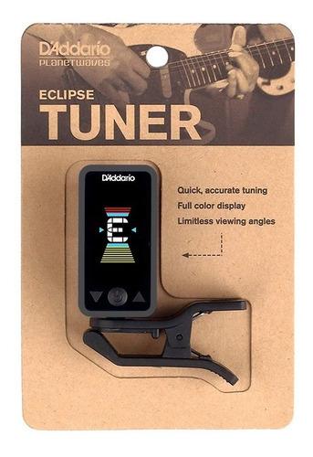 d'addario afinador digital eclipse negro