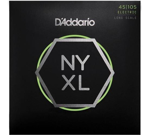 daddario strings nyxl45105 enc. p/bajo - light top / medium