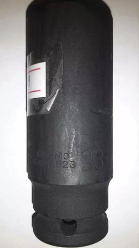dado 23mm de impacto mando 1/2 largo marca force.