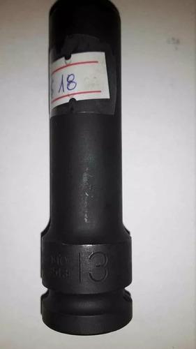 dado de impacto 13mm mando 1/2 largo marca force