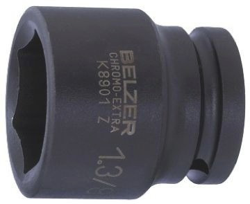 dado hex impacto mando ¾¿ 1.1/8¿ modelo k8901z-1.1/8 bahco.