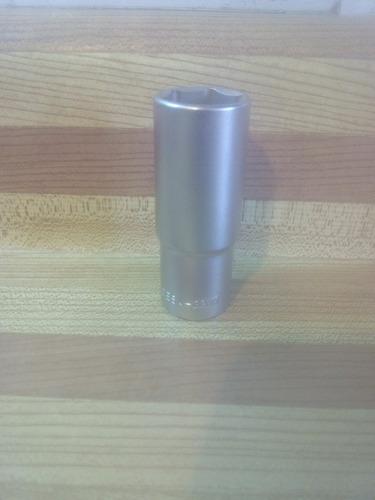 dado largo cromado acesa 22 mm hexagonal acople 1/2