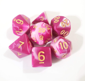 Dados Dungeonamp; PearlBolsa Dragons Rol Rosa A3RL4j5