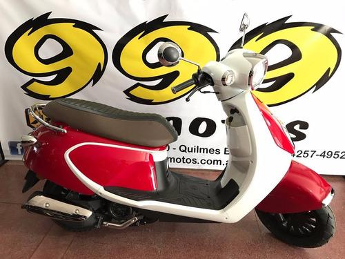 daelim besbi 125 scooter retro vintage 0 km okm moto