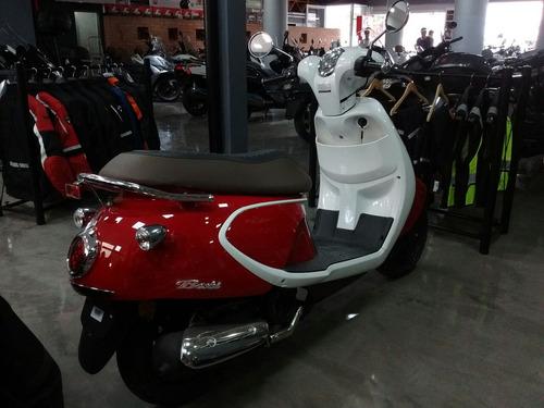 daelim besbi  rojo 125cc- sauma motos
