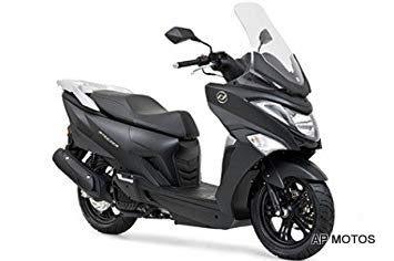 daelim steezer 125 piso plano scooter 2019 0km apmotos