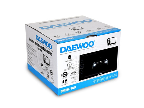 daewoo autoestereo dvd touch doble din dw-6527dvd