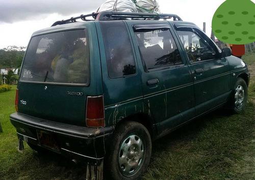daewoo tico ,motor,800 1997 verde 5 puertas