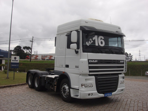 daf xf 105, 460, 6x2, autom., ar cond., completo, sjp5006