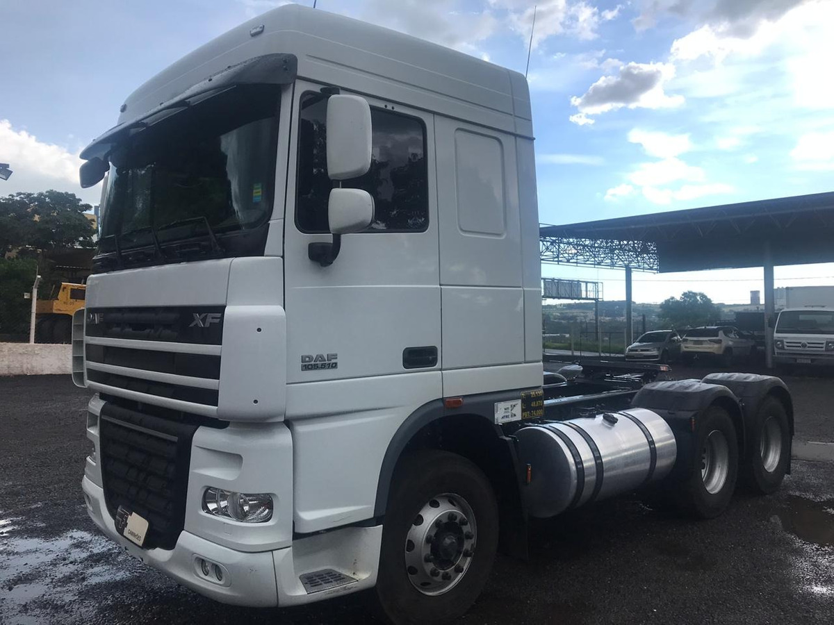 Daf Xf105 Ftt 510 6x4 Ano 2018 Completo