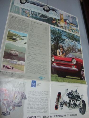 daffodil 1966  folder/catalogo da linha 1966