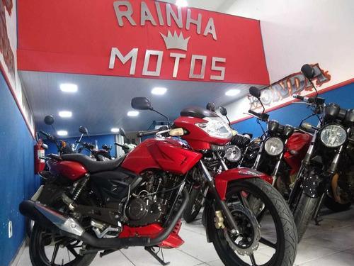 dafra apache 150 2010 linda 12 x 453 c/ 500 ent rainha motos