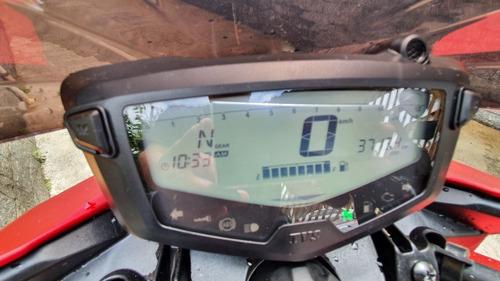 dafra apache tvs rtr200 com 3.800km