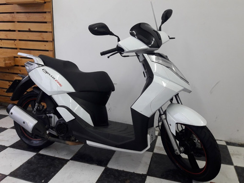 dafra cityclass 200i 2015 branca tebi motos