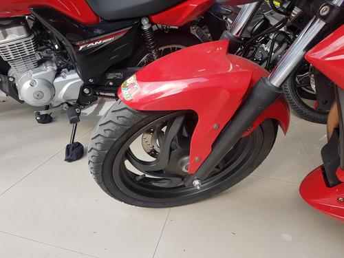 dafra next 250 2013 vermelha impecável