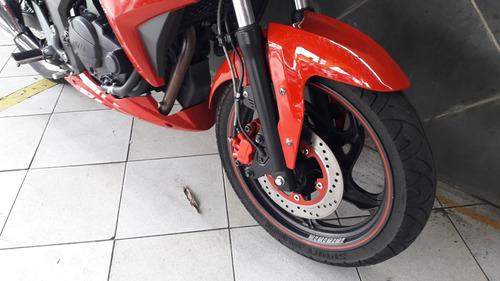 dafra next 250 vermelha 2015