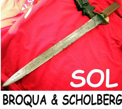 daga broqua scholberg antigua 41,5 cent plateria criolla