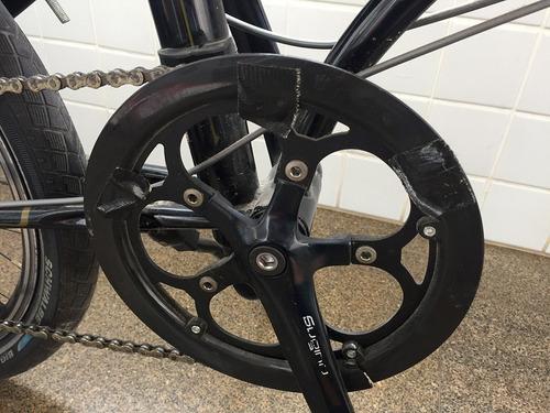 dahon speed p8 - bicicleta dobrável - apenas retirada