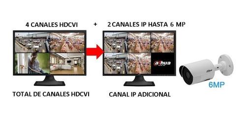 dahua cooper xvr1a04 dvr 4 canales hdcvi pentahibrido 1080p