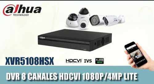 dahua dhi-xvr5108-s2 8canales