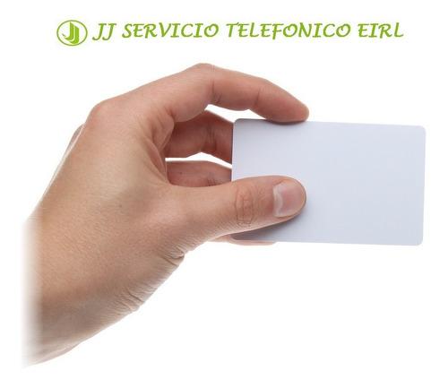 dahua perú - tarjeta de proximidad mifare 1, 13.56mhz