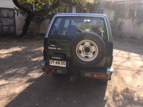 daihatsu feroza sx  2002 1.6 3 puertas