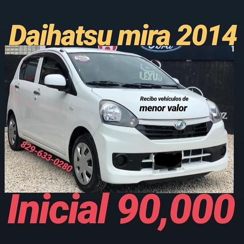 daihatsu mira 2014 full llevatelo con 90,000
